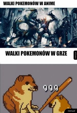 Walki pokemonów