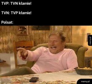 Kłamstwo w telewizji
