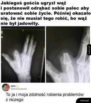 Problem z niczego