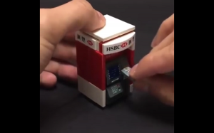 Lego bankomat