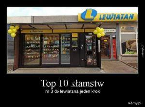 Top 10 kłamstw