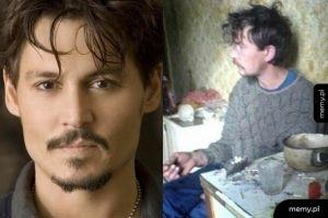 Johnny Depp po miesiącu w Rosji