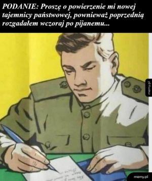 Administracyjna formalność