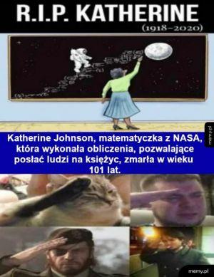 Uwaga, zmarła osoba o znaczeniu kosmicznym