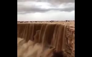 Wodospad z piasku, Arabia Saudyjska