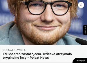 Polsat news Sheeran