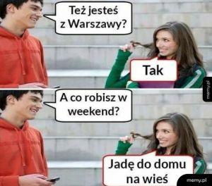 Ludzie w Warszawie