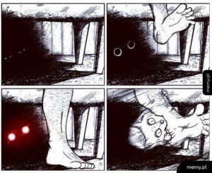 Potwór pod łóżkiem