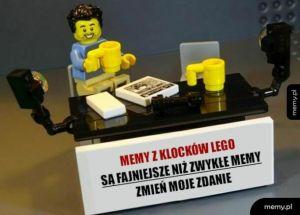 Lego change
