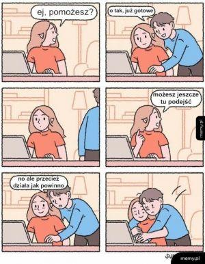 Pomóż przy komputerze
