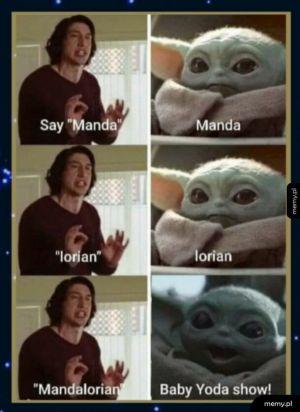 Baby Yoda Show