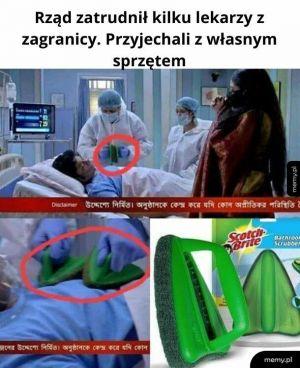 Wciąż lepszy sprzęt niż w wielu polskich szpitalach