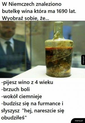 Stare wino
