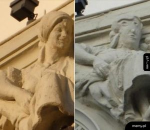 """Oto """"Ziemniaczana głowa"""" Palencii,  spartaczona renowacja dzieła sztuki w Hiszpanii"""
