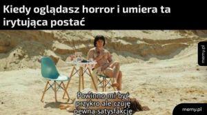 Oglądnie horrorów