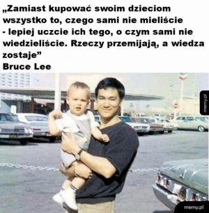 Mądrość od Bruca Lee
