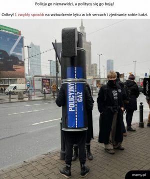Gaz na ulicach