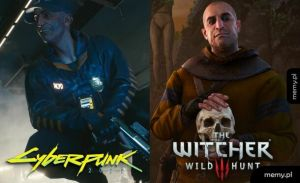 Cyberpunk vs Wiedźmin