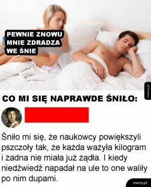 Chore sny