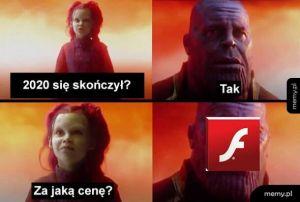 Żegnamy Flasha