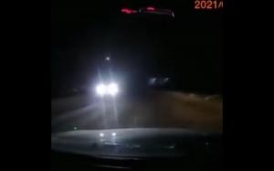 Spadający meteoryt  w Rosji