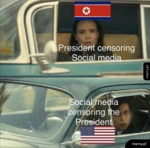 To smutne, że trzeba ludziom tłumaczyć że cenzura jest zła niezależnie od poglądów