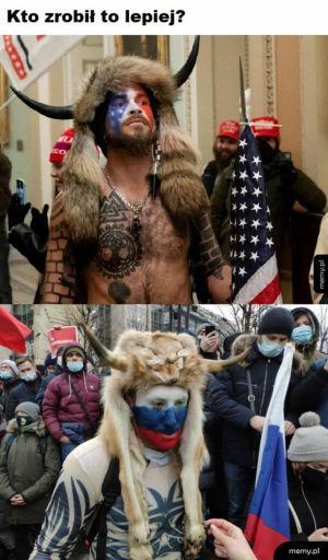 US vs RU