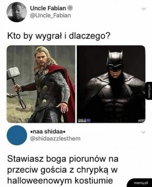 Thor vs Batman