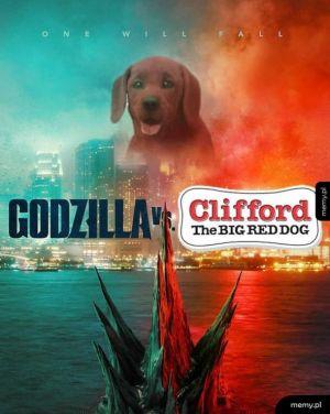 Clifford wygra, wiadomo, że miłość jest najsilniejsza xD