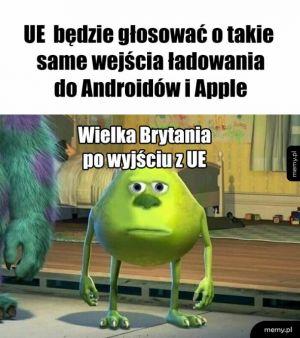UE i walka z Apple