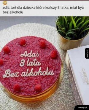 Gratulacje dla Adasia