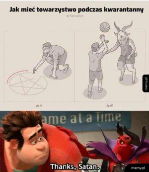 Thanks, Satan