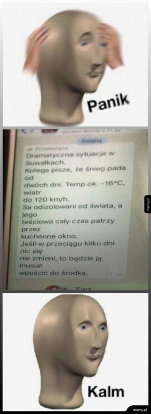 Dramatyczne wieści z Suwałk!