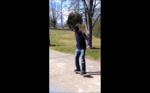 He ain't skating no more