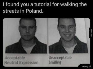 Jak chodzić po ulicy w Polsce