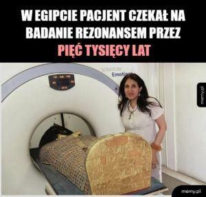 MRI prywatnie kosztuje tysiaka i się nie doczekasz jak nie masz