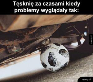 Problemy kiedyś