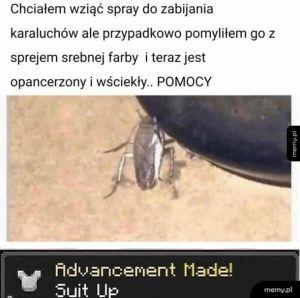 Straszny karaluch
