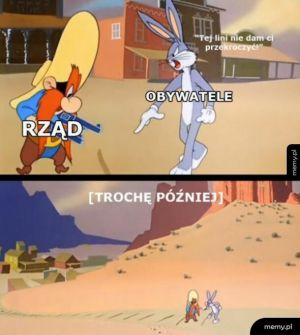 Rząd vs obywatele