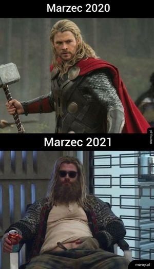 Marzec 2020 vs Marzec 2021