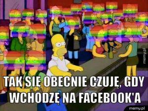 Facebook obecnie.