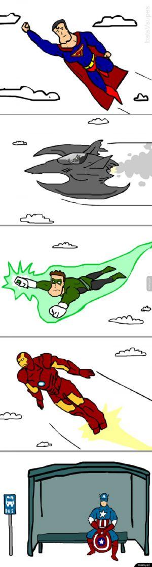 Życie superbohatera też potrafi być trudne