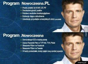 Program wyborczy partii Nowoczesna.PL
