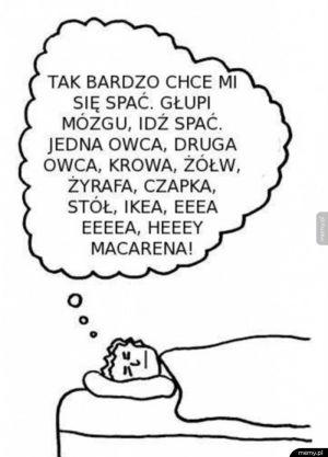 Tak bardzo chce mi się spać...