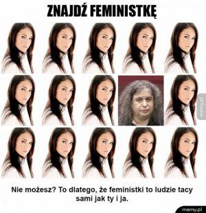 Znajdź feministkę