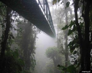 Sky walk - Kostaryka