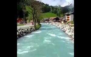 Nie jestem pewien, czy to Szwajcaria czy niebo