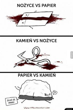 Papier, kamień, nożyce
