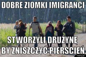 Dobre ziomki imigranci