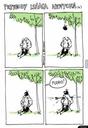 Przygody Isaaca Newtona